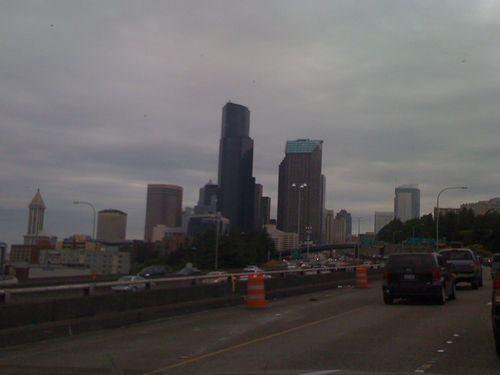 Skyline from I-5
