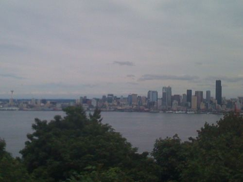Skyline from west seatte